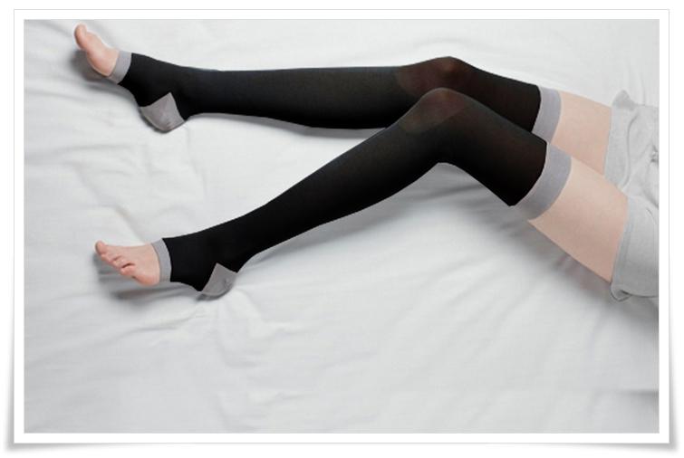 エクスレッグスリマーの履いてみた写真