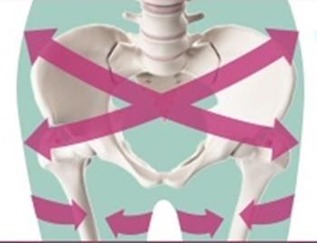 リンパマッサージセルライトスパッツの骨盤矯正効果の画像
