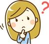 ララスリムナイトの質問をする女性のイラスト