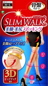 スリムウォークの美脚・美尻ストッキングの画像