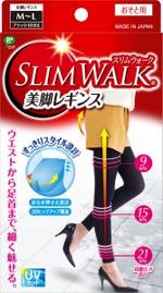 スリムウォークの美脚レギンスの画像