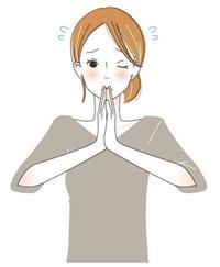 着圧ソックスのおすすめできない説明をする女性のイラスト